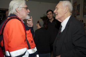 Tony Benn meets CJ Stone, Gulbenkian Theatre, Canterbury, January 2011